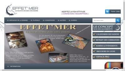 Site internet de Effet'Mer