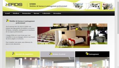 Site internet de Efidis