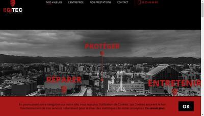 Site internet de Egitec