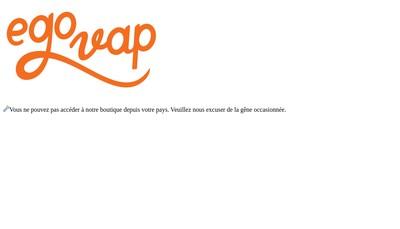 Site internet de Egovap