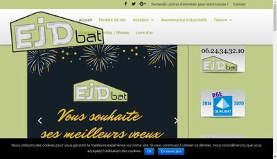 Site internet de EJD Bat