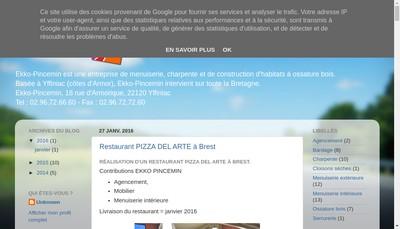 Site internet de Ekko Pincemin