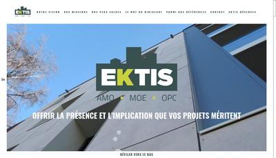 Site internet de Ektis