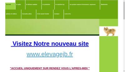Site internet de Elevage Canin le Clos Vert