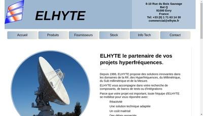 Site internet de Elhyte