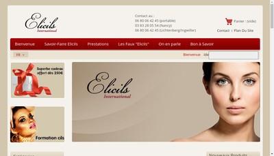 Site internet de Elicils