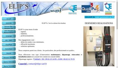 Site internet de Elip S