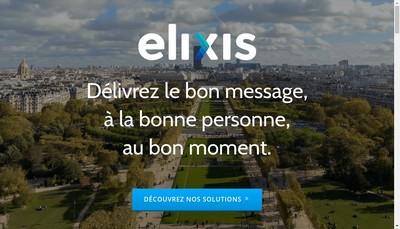Site internet de Elixis Digital