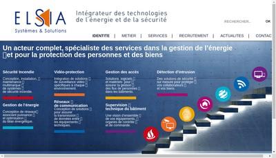 Site internet de Elsia