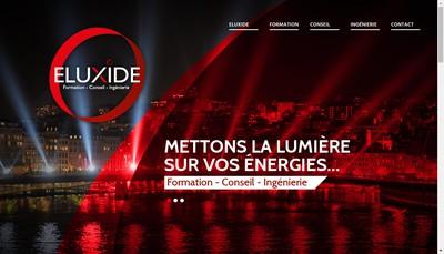 Site internet de Eluxide