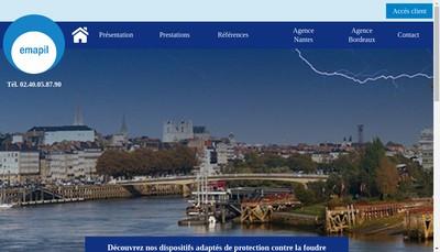 Site internet de Emapil