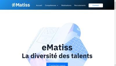 Site internet de Ematiss
