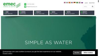 Site internet de Emec France
