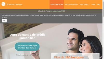 Site internet de May Credit Empruntnet