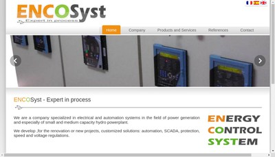 Site internet de Encosyst
