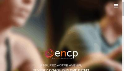 Site internet de Encp