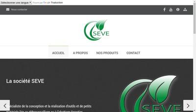 Site internet de Seve