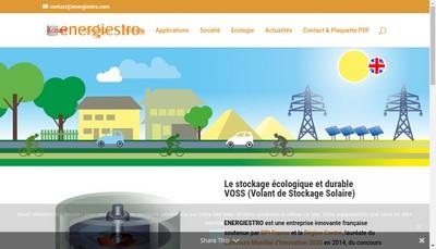 Site internet de Energiestro