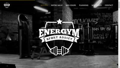 Site internet de Ener'Gym