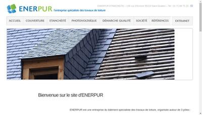 Site internet de Enerpur Etancheite