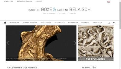 Site internet de Goxe Belaisch - Hotel des Ventes d'Enghien