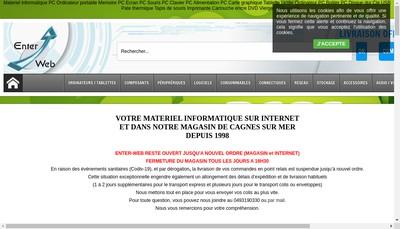 Site internet de Enter