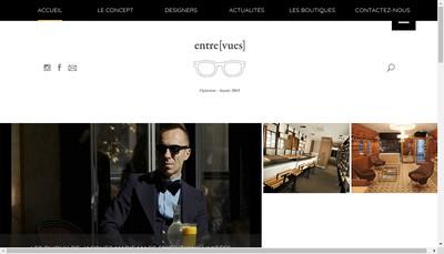 Site internet de Entre Vues Seven