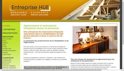 Site internet de Entreprise Hue