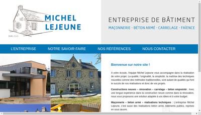 Site internet de Michel Lejeune