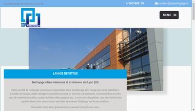 Site internet de Top Nettoyage