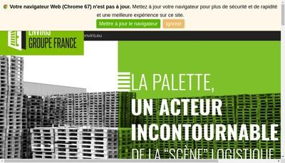 Site internet de Enviris France
