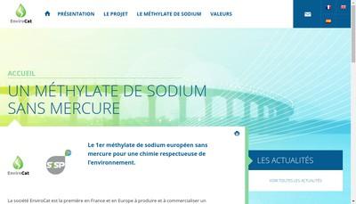 Site internet de Envirocat