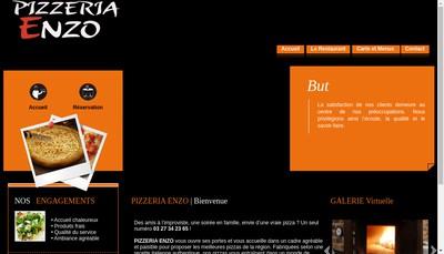 Site internet de Enzo Italie a Domicile