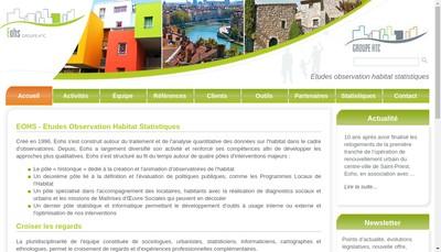 Site internet de EOHS