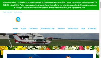 Site internet de Eole Loisirs Educatifs