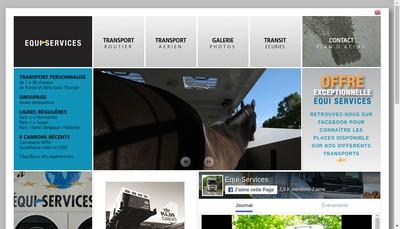 Site internet de Equi-Services