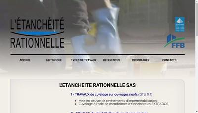 Site internet de L'Etancheite Rationnelle