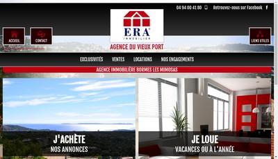 Site internet de Agence du Vieux Port