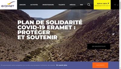 Site internet de Comilog France