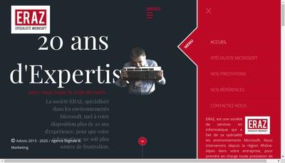 Site internet de Eraz
