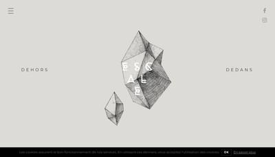 Site internet de Escale Design