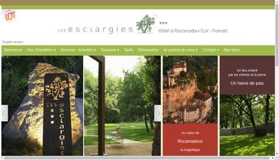 Site internet de Les Esclargies