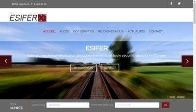 Site internet de Esifer