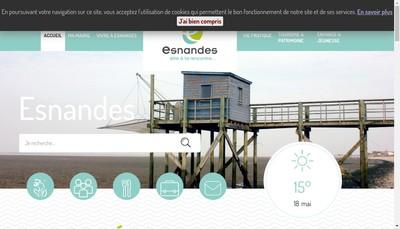 Site internet de Pharmacie des Chenes