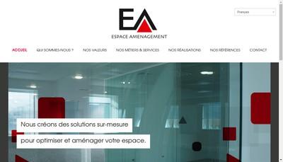 Site internet de Espace Amenagement