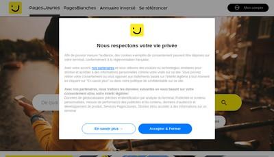 Site internet de Laurent Mongin
