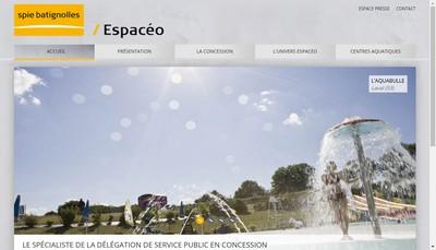 Site internet de Espaceo