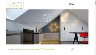 Site internet de Laetitia Henry Architecture d'Interieur