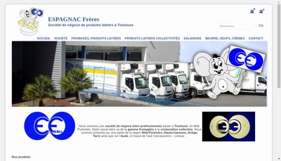 Site internet de Espagnac Freres