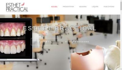 Site internet de Esthet Practical